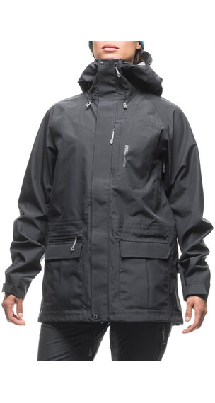 Houdini W's Corner Jacket Rock Black